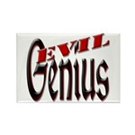 Evil Genius Rectangle Magnet (100 pack)