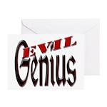 Evil Genius Greeting Cards (Pk of 20)