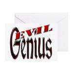 Evil Genius Greeting Card