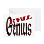Evil Genius Greeting Cards (Pk of 10)