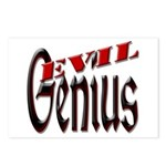Evil Genius Postcards (Package of 8)