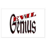 Evil Genius Large Poster
