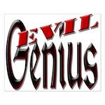 Evil Genius Small Poster