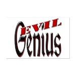 Evil Genius Mini Poster Print