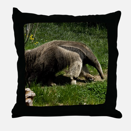 Giant Anteater by BuffaloWorks Throw Pillow