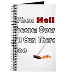 When Hell Freezes Over... Journal