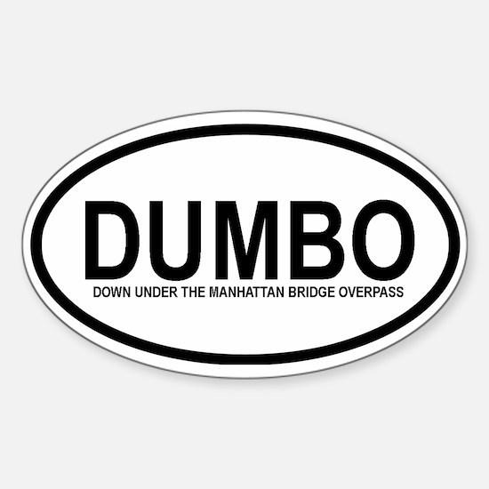 DUMBO Sticker (Oval 10 pk)