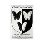 Christina McCarty's Rectangle Magnet (100 pack)