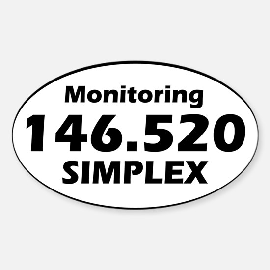 Oval Simplex Decal Decal