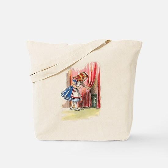 Alice FInds a Door Tote Bag