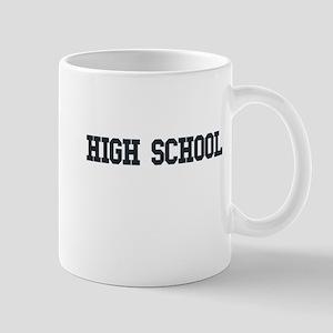 High School College Mug
