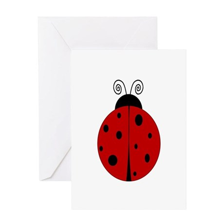 Ladybug - Personalized with Greeting Card