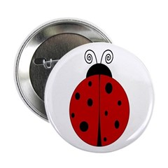 """Ladybug - Personalized with 2.25"""" Button"""