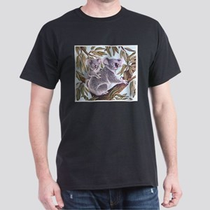Tropical Paradise Art Dark T-Shirt