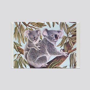 Tropical Paradise Art Rectangle Magnet