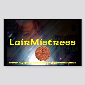 LairMistress 2008 Sticker (Rectangle)