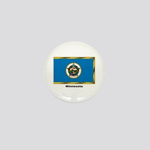 Minnesota State Flag Mini Button