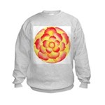 Flametip Flower Kids Sweatshirt