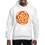 Flametip Flower Hooded Sweatshirt