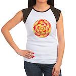 Flametip Flower Women's Cap Sleeve T-Shirt