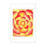 Flametip Flower Mini Poster Print