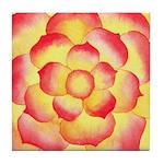 Flametip Flower Tile Coaster