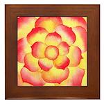 Flametip Flower Framed Tile