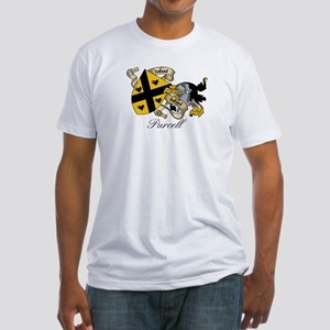 Purcell Coat of Arms / Crest Fitted T-Shirt