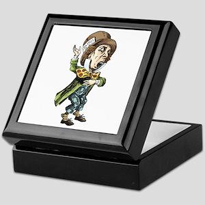 The Mad Hatter Keepsake Box