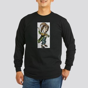 The Mad Hatter Long Sleeve Dark T-Shirt