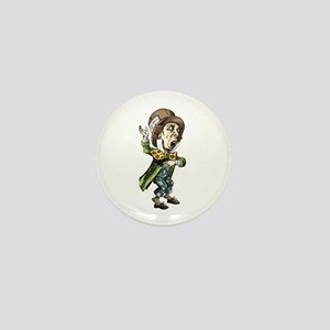 The Mad Hatter Mini Button