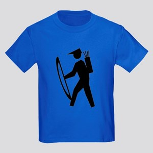 Archery Guy Kids Dark T-Shirt