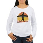 Summer Surfer Women's Long Sleeve T-Shirt