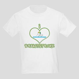 I Love Breaststroke! Kids T-Shirt