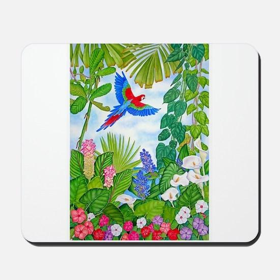 Tropical Paradise Art Mousepad