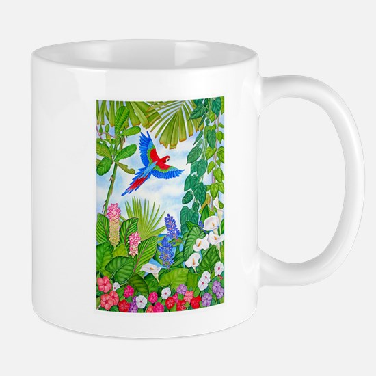 Tropical Paradise Art Mug