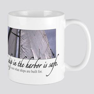 A Ship in the Harbor Mug