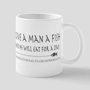 Give a Man a Fish Mug