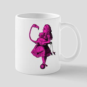 Alice and Flamingo Pink Fill Mug
