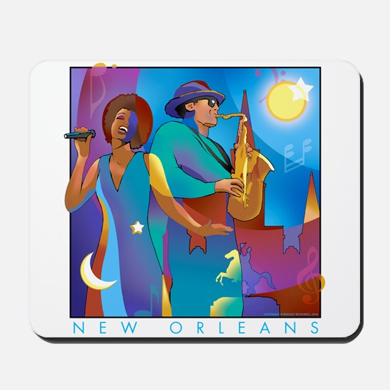 New Orleans French Quarter Mousepad