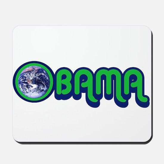Obama World Mousepad