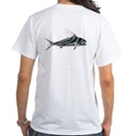 Roosterfish T-Shirt (image on back)