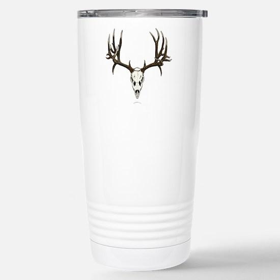 Deer skull Stainless Steel Travel Mug