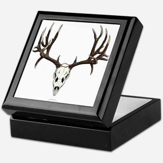 Deer skull Keepsake Box