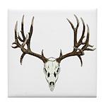 Deer skull Tile Coaster