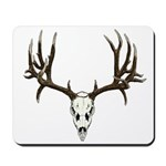 Deer skull Mousepad