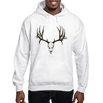 Deer skull Hooded Sweatshirt