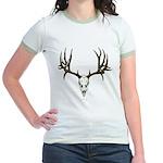 Deer skull Jr. Ringer T-Shirt