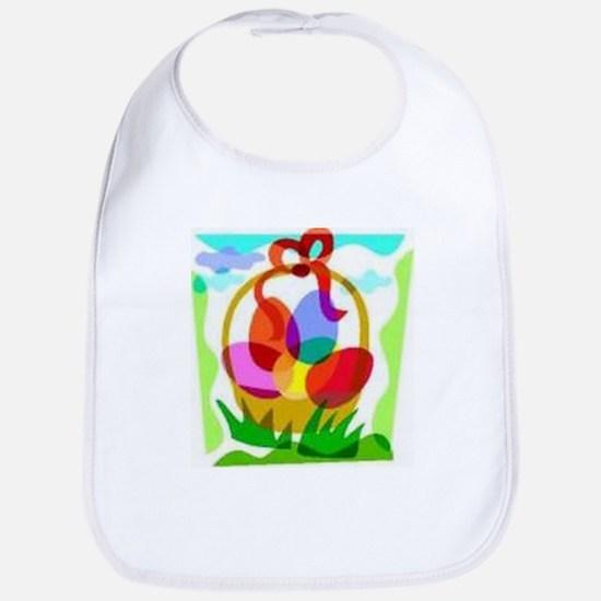 Easter Basket Bib