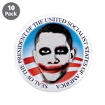 """Seal of the USSA 3.5"""" Button (10 pack)"""